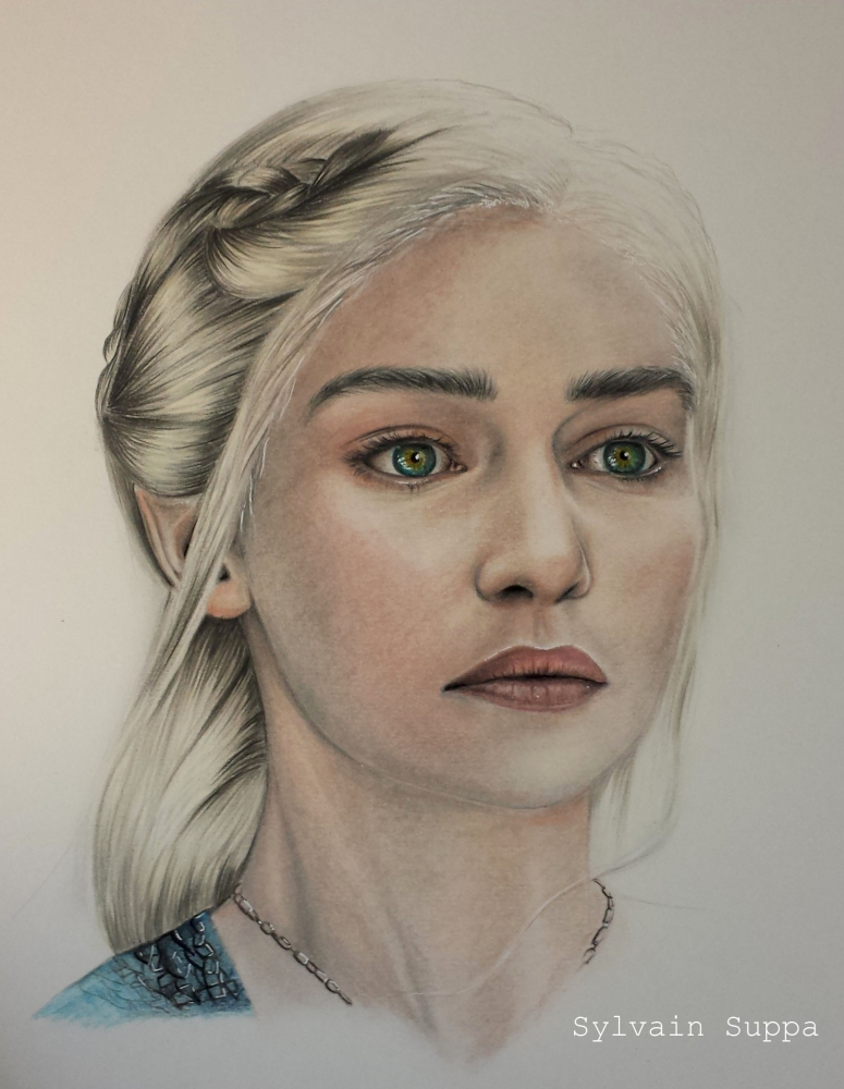 Emilia Clarke por Smiley